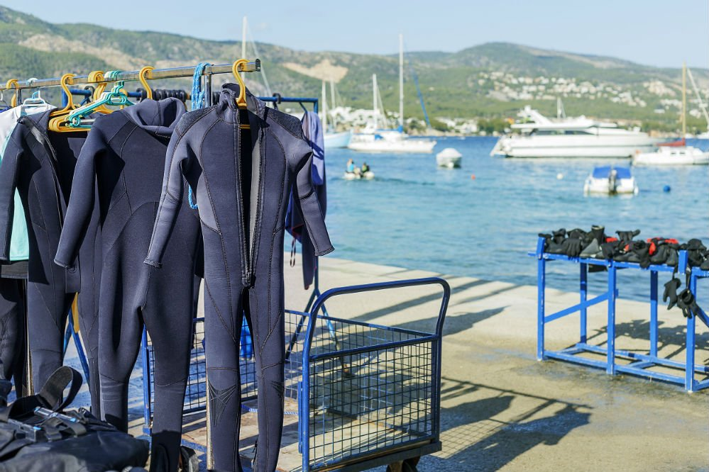 Are Rental Wetsuits Sanitary?