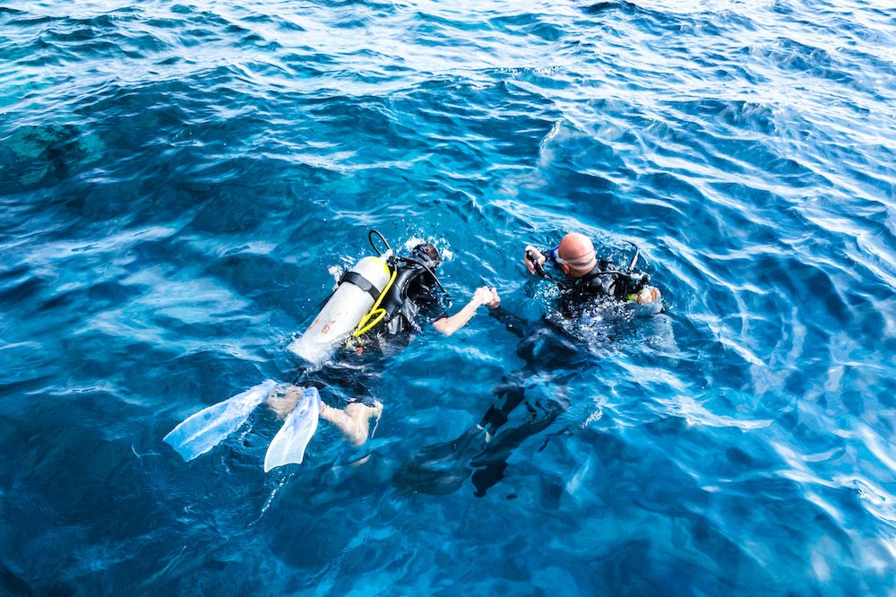 best place to scuba dive for beginners 1